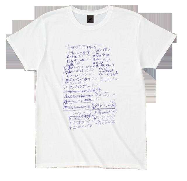 Set List Tシャツ(白)