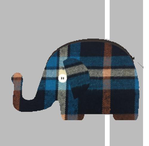 ELEPHANT コンパクトポーチ