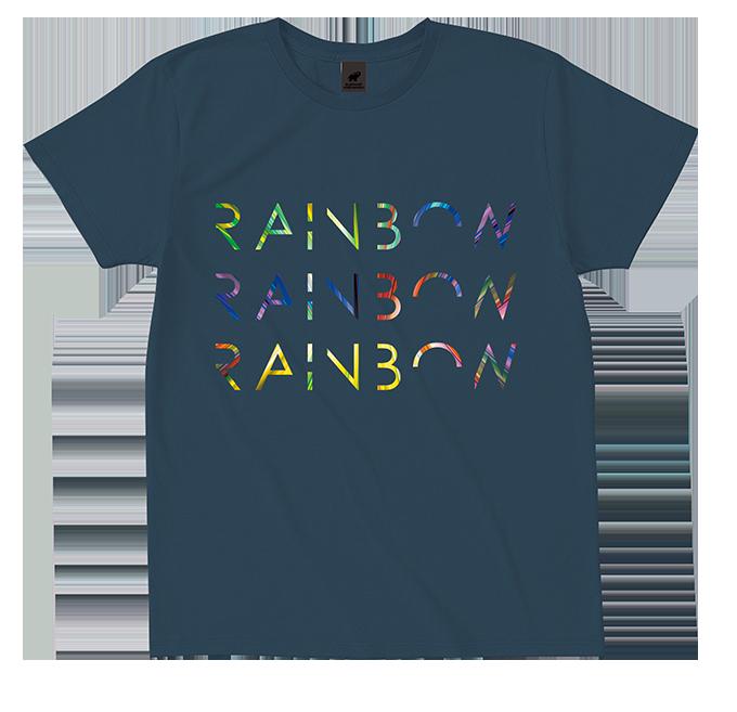 RAINBOW TOUR Tシャツ(デニム)