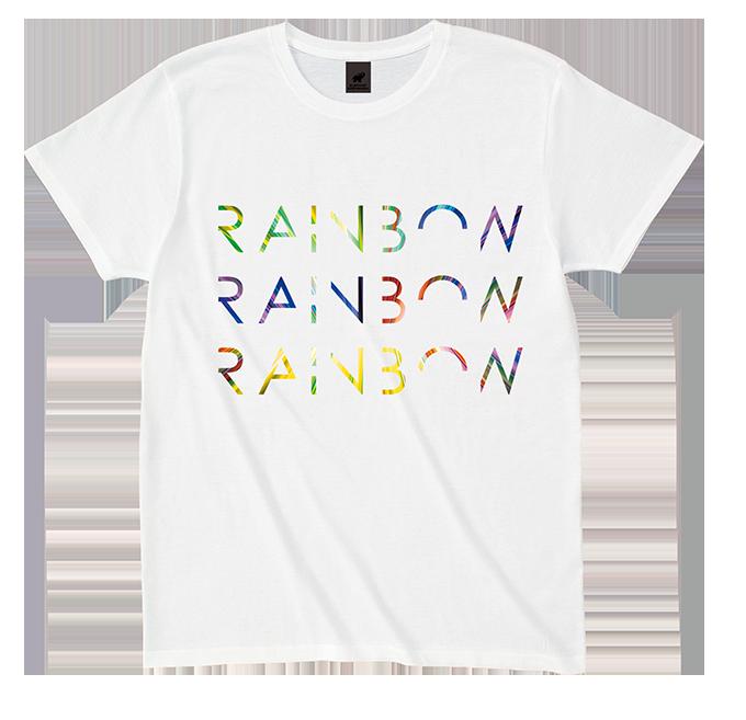 RAINBOW TOUR Tシャツ(ホワイト)