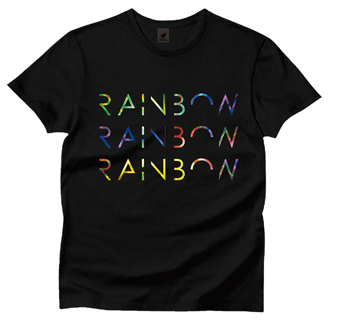 RAINBOW TOUR Tシャツ(ブラック)