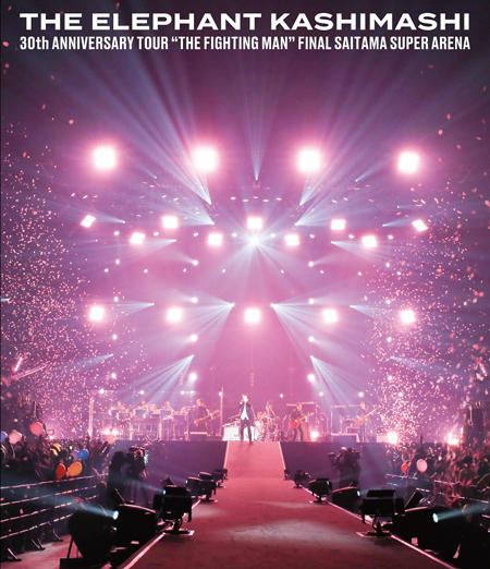 "Live Blu-ray & DVD「30th ANNIVERSARY TOUR""THE FIGHTING MAN""FINAL さいたまスーパーアリーナ」ジャケット公開!"
