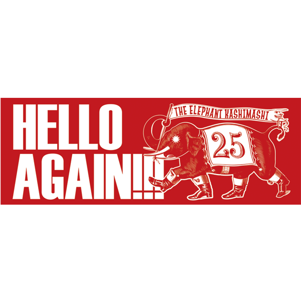 25th Anniversary HELLO AGAIN スポーツタオル